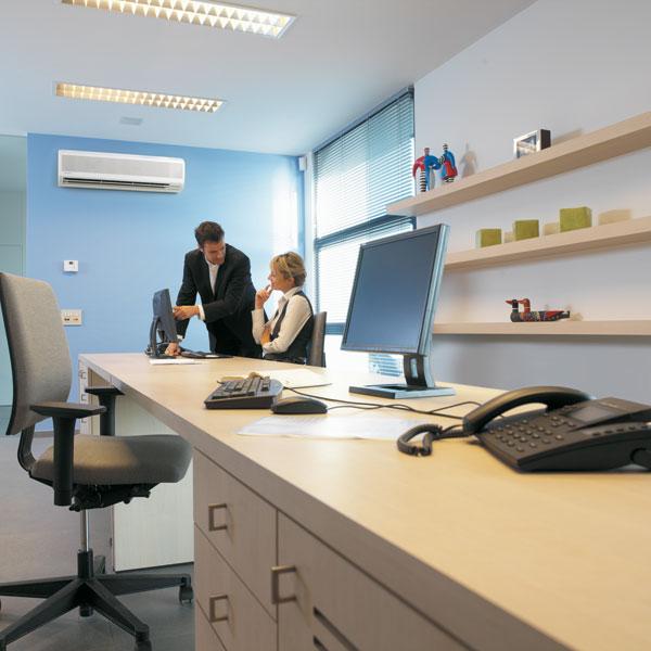 Väggmonterad luftkonditionering
