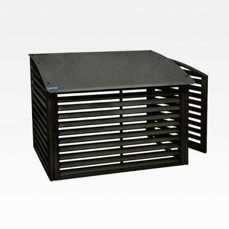 VPS90-K-värmepumpsskydd-i-svartlackerad plåt