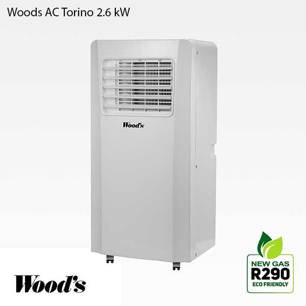 Woods Torino G luftkonditionering 2.6 kW med R290