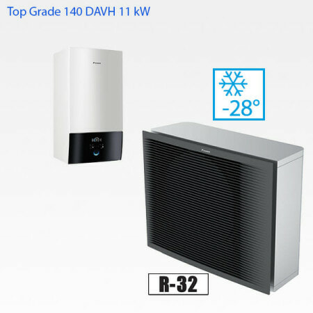 Daikin Altherma 3 Top Grade 140 DAHV luft-vattenvärmepump