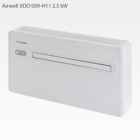 Airwell XDO 009-H11 vattenkyld luftkonditionering 2.5 kW