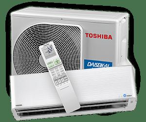 Daiseikai 9.5 - Premium väggmodell från Toshiba