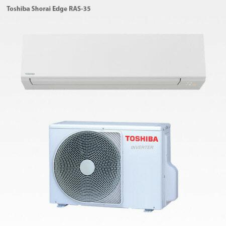 Toshiba Shorai Edge RAS-35 luftvärmepump